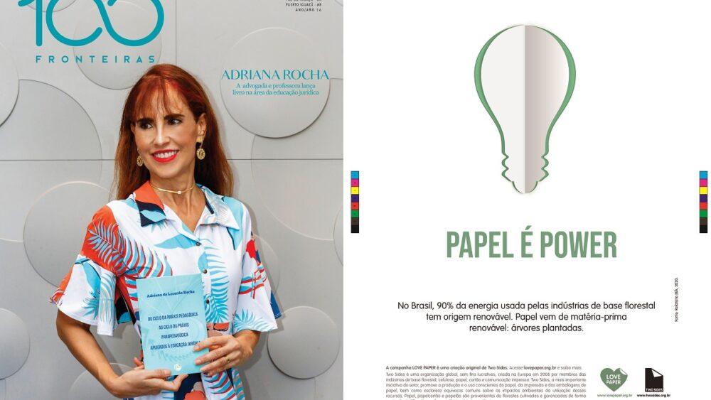 Sucesso para a campanha Love Paper em março