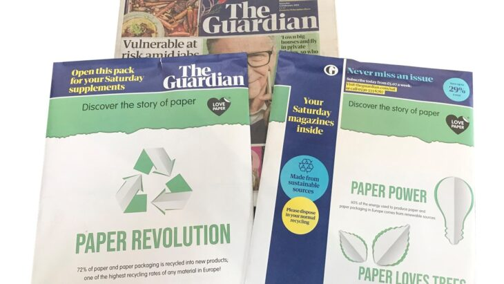Love Paper e o jornal britânico The Guardian