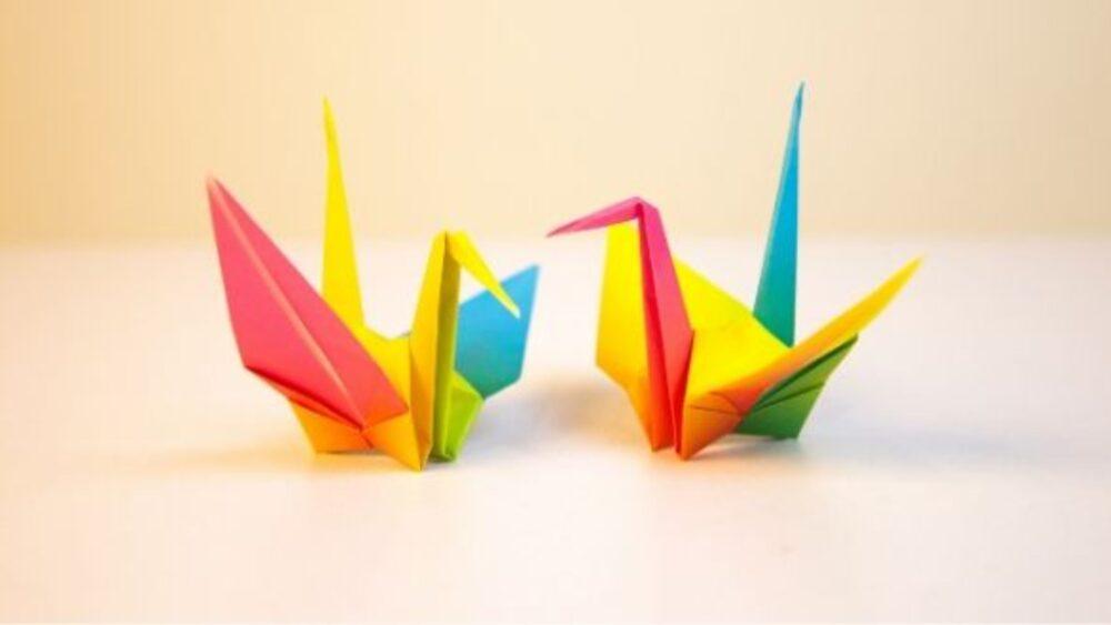 Origami: Tsuru de papel