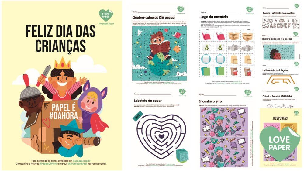Love Paper comemora o dia das crianças